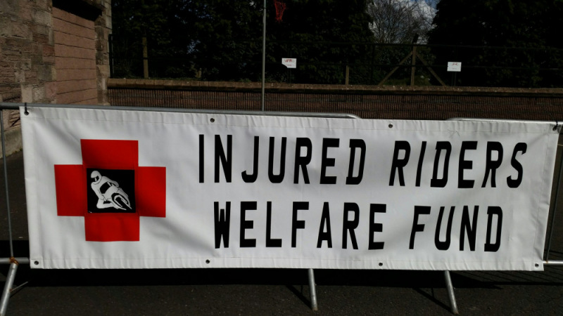 First outing of 2015 at The Comber Bikesafe Day.  Note to self……  DO NOT FORGET THE BANNER…!  DO NOT FOR